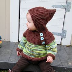 if I could only learn to knit like this before I have offspring.