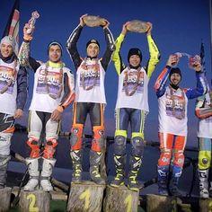 Ecco il podio de#La100KmdeiCampioni #FrankyMorbido@petrux9@luca_marini_97@andreadovizioso#ThomasChareyre Via@valeyellow46#tavullia#italy#ranch