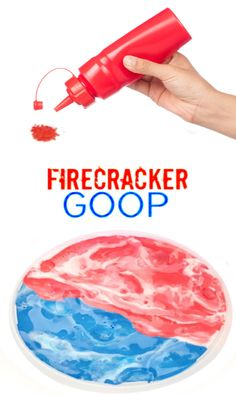 Make firecracker goop slime using Pop Rocks! Kids of all ages are sure to love this popping, fizzing play recipe. Sensory Activities Toddlers, Educational Activities For Kids, Indoor Activities For Kids, Infant Activities, Toddler Preschool, Toddler Crafts, Kids Learning, Toddler Games, Preschool Ideas