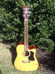 Olympia by Tacoma Acoustic Electric Guitar OD-10SCE M'N Indo licensed pre Fender…