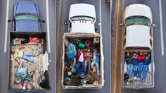 Mexican workers on the way to work