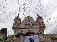 WNF donateursdag 2013: De donateursdag was een groot feest. Deze foto is gemaakt door Melanie Scholten.