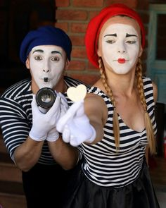 Mime Halloween Costume, Jokers, Clowns, Beanie, Entertaining, Female, Instagram Posts, Fashion, Moda