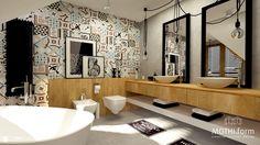 patchworkowa łazienka - zdjęcie od MOTHI.form - Łazienka - Styl Industrialny - MOTHI.form