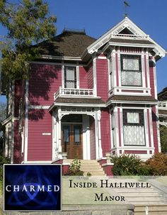 Inside Halliwell Manor from TV Show Charmed. I always loved the style of this house!