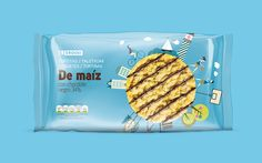 Eroski's Rice And Corn Snacks on Packaging of the World - Creative Package Design Gallery