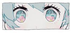 Hatsune Miku, Animation Reference, Art Reference, Aesthetic Art, Aesthetic Anime, Arte 8 Bits, Anime Eyes, Anime Scenery, Manga Drawing