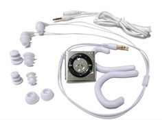 Waterproof headphones and iPod shuffle. | 32 Perfect Gifts For The Healthiest Person You Know