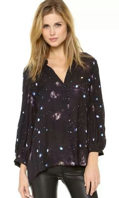 Love this galaxy blouse