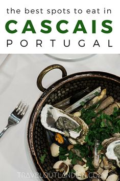 What is Portuguese food anyway? If you're traveling to Portugal, here are some restaurants in Cascais, Sintra, & beyond where you can sample the region's favorite food.