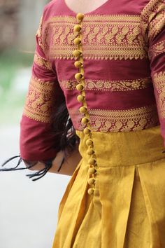 Long Dress Design, Dress Neck Designs, Kurti Neck Designs, Kurta Designs Women, Kurti Designs Party Wear, Blouse Designs, Stylish Blouse Design, Stylish Dress Designs, Designs For Dresses