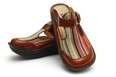 Alegria Classic Jute Stripe - on closeout for $69! | Alegria Shoe Shop