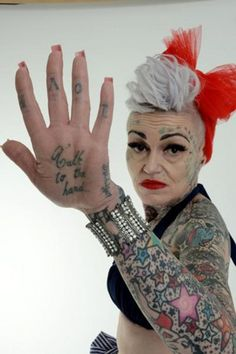 Ever Wonder What Tattoos Look Like When You're Old?