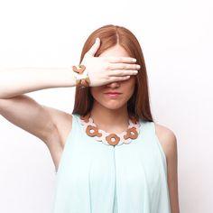 ESLABON leather necklace