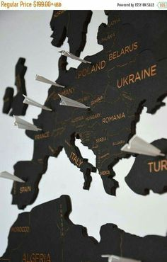 Push Pin Travel World Map Wooden Pin Map of the World Wall H.- Push Pin Travel World Map Wooden Pin Map of the World Wall Home Art Wanderlust Gift for Wife Husband Custom Christmas Travel Lover Gift - Christmas Gifts For Husband, Gifts For Wife, Gift For Lover, Lovers Gift, New York City Map, Anniversary Gifts For Husband, Christmas Travel, Christmas Sale, Wall Maps