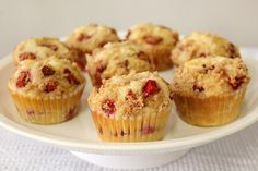 Food Wanderings in Asia: Strawberry Cheesecake Muffins {Breakfast is Served...