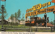 Six Gun Territory, Ocala, Florida...gone now but my kids loved going here