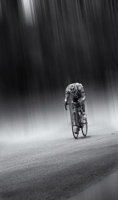 Bike through the pain in all kinds of weather