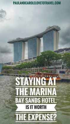 We stayed at the Marina Bay Sands for a birthday treat. Singapore is notoriously expensive and we wanted to see if a stay here was worth the expense. Have a read and see what we thought. Sands Hotel Singapore, Singapore Malaysia, Malaysia Travel, Asia Travel, Singapore Food, Hotels And Resorts, Best Hotels, Singapore Travel Tips, Singapore Vacation