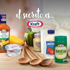 El secreto de toda buena comida es Kraft. #KraftRD
