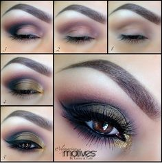 This is amazing. I love the lashes and the color palette used. Purchase on my site shop.com/purdiesplace