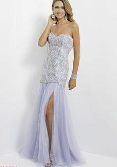Floor Length Tulle Sweetheart Mermaid Sleeveless Natural Waist Prom Gowns