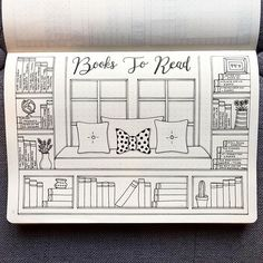 books to read bullet journal template layout bullet journal page ideas inspiration bujo planner doodles handwriting organize your life How to start a bullet journal.