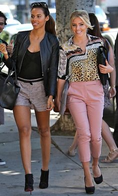 Rochelle Humes and Mollie King at Sunset Boulevard  - My Month By Mollie King