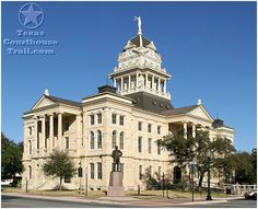 Renaissance Revival - Bell County Courthouse in Belton, Texas.