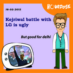 Kejriwal battle with LG is ugly