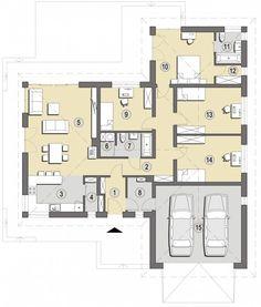 Bungalow, Building Plans, Facade, House Plans, Pergola, Sweet Home, Villa, Floor Plans, House Design