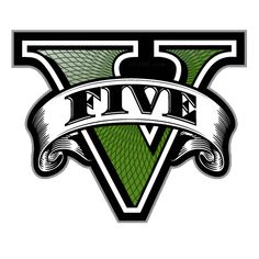 V is for 5...GTA logo analyzed