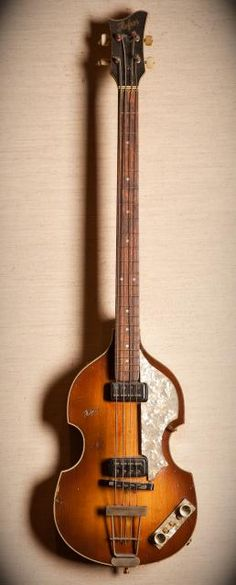 Hofner Bass. I want one so badly