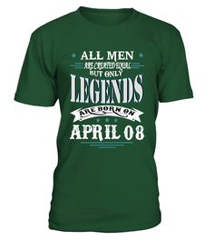 Legends are born on April 08  #image #sciencist #sciencelovers #photo #shirt #gift #idea #science #fiction
