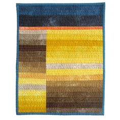 This reminds me of a beloved Klee painting, Doppelzelt. I could do a quilted homage, maybe . Strip Quilts, Easy Quilts, Mini Quilts, Quilt Blocks, Quilting Projects, Quilting Designs, Quilting Ideas, Sewing Projects, Summer Quilts