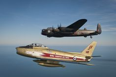Pay It Forward > Vintage Wings of Canada Canadian Army, Canadian History, Ww2 Aircraft, Military Aircraft, Air Fighter, Fighter Jets, Sabre Jet, Lancaster Bomber, Aviation Image