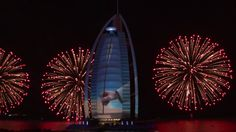 National Day, Dubai CAN do fireworks. Burj Al Arab Celebrates the UAE's 43rd National Day - Official Video