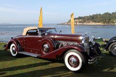 1934 Duesenberg SJ Walker-LaGrande Convertible Coupe J530