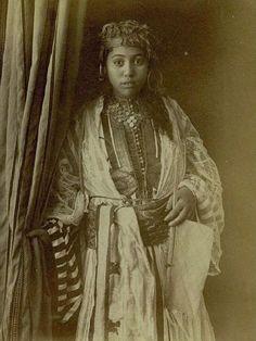 Algerian woman in 1870   Flickr - Photo Sharing!