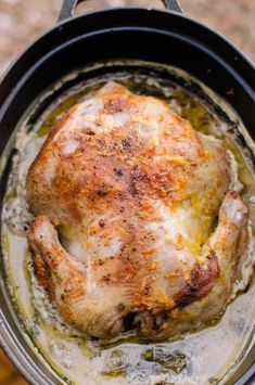 Jamie Oliver's Chicken in Milk Is Probably the Best Chicken Recipe of All Time - poulet Best Chicken Recipes, Meat Recipes, Slow Cooker Recipes, Crockpot Recipes, Cooking Recipes, Healthy Chicken, Best Whole Chicken Recipe, Recipies, Best Chicken Dishes