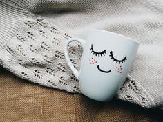 find handmade mugs at instagram @jeszczelepiej #mug #kubek #kawa #coffeelover #coffeemug #giftidea Mugs, Tableware, Handmade, Instagram, Dinnerware, Cups, Dishes, Craft, Mug