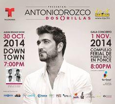 Antonio Orozco @ Complejo Ferial de Puerto Rico, Ponce #sondeaquipr #antonioorozco #complejoferialpr #ponce #conciertospr