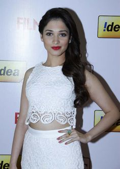 Tamannaah at the 61st Idea Filmfare South Awards 2013 #Style #Bollywood #Tollywood #Fashion #Beauty
