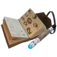 """A copy of the """"Journal of Impossible Things"""" (plus a mini sonic screwdriver) for…"""