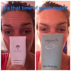 Polish peel and mud mask kinda day! Marine Mud Mask, Skin Polish, Nu Skin, Epoch, Little My, No Time For Me, Day