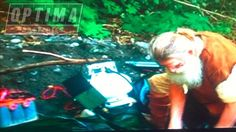 Mick Dodge using an OPTIMA REDTOP to power his backwoods hot tub