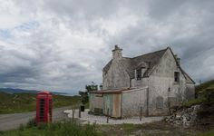 A sleeping village towards Elgol, Isle of Skye  #isleofskye #scotland #village #nikon #d800 #nature #landscape #500px #microstock #gettyimages