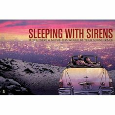 Amazon.com: Sleeping With Sirens - Posters - Limited Concert Promo: Home & Kitchen