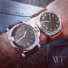 #Panerai head-to-head #Luminor or #Radiomir?