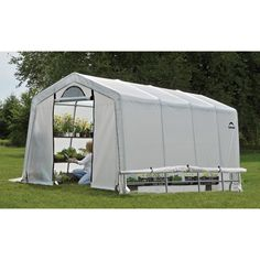 ShelterLogic Grow-It Greenhouse — 10ft.W x 20ft.L x 8ft.H, Model# 70658 | Green Houses| Northern Tool + Equipment